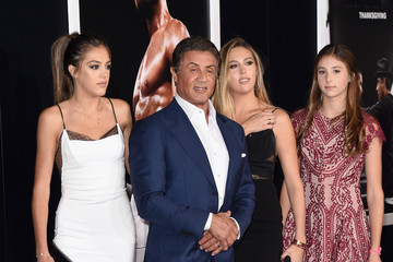 Sylvester Stallone Sophia Rose Stallone Premiere of Warner Bros. Pictures' 'Creed' - Arrivals
