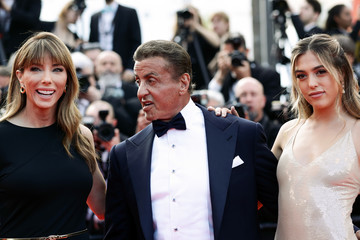 Sylvester Stallone Sophia Rose Stallone Closing Ceremony Red Carpet - The 72nd Annual Cannes Film Festival