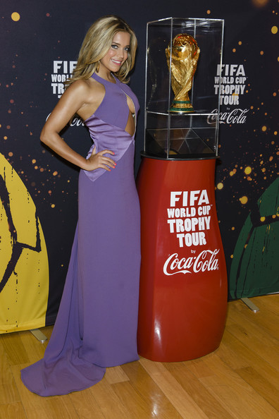 Sylvie Meis - Gala Night of the FIFA World Cup Trophy Tour