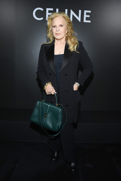 Sylvie Vartan Sylvie Vartan Photos Celine Front Row Paris Fashion Week Womenswear Spring Summer 2020 Zimbio