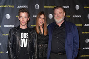 (L-R) Actors Harry Treadaway, Kelly Lynch and Brendan Gleeson attend AT&T Audience Network FYC presentation event For 'Mr. Mercedes' at Hollywood Forever on April 15, 2018 in Hollywood, California.