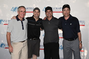 Tom Corson, Chris Daughtry, Scott Stapp and Rick Krim attend the T.J. Martell Foundation New York Golf Classic on July 20, 2015 in Croton-on-Hudson City.