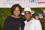 Radio personality Robin Quivers (L) and singer/songwriter Andrea Martin attend the T.J. Martell Foundation's Women of Influence Awards on May 1, 2015 in New York City.