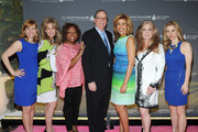 (L-R) Megan Sikora, Laura Heatherly, Robin Quivers, Charlie Feldman, Hoda Kotb, Randi Rahm, and Kerry Butler attend the T.J. Martell Foundation's Women of Influence Awards on May 1, 2014 in New York City.