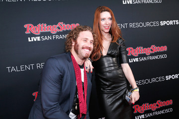T.J. Miller Kate Gorney Rolling Stone Live SF With Talent Resources - Arrivals