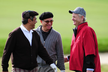 George Lopez Andy Garcia AT&T Pebble Beach National Pro-Am - Round One