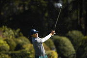 Jordan Spieth of the United States plays his second shot on the 16th hole during the third round of the AT&T Pebble Beach Pro-Am at Pebble Beach Golf Links on February 09, 2019 in Pebble Beach, California.