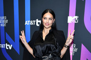 Adriana Lima attends AT&T TV Super Saturday Night at Meridian at Island Gardens on February 01, 2020 in Miami, Florida.