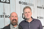 """Greg Garcia and Michael Rapaport attend TBS """"The Guest Book"""" Season 2 premiere at EPLP Restaurant on October 16, 2018 in West Hollywood, California."""