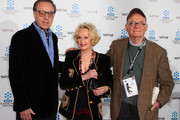 """(L-R) Director Peter Bogdanovich, actress Tippi Hedren and writer Buck Henry attend the TCM Classic Film Festival screening of a """"A Star Is Born"""" at Grauman's Chinese Theater on April 22, 2010 in Hollywood, California."""