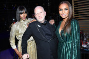 Naomi Campbell, Ryan Murphy and Janet Mock attend the TIME 100 Gala 2019 Dinner at Jazz at Lincoln Center on April 23, 2019 in New York City.