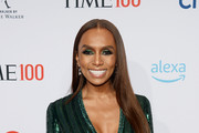 Janet Mock attends the TIME 100 Gala 2019 Lobby Arrivals at Jazz at Lincoln Center on April 23, 2019 in New York City.
