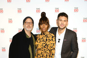 NEW YORK, NEW YORK - APRIL 23 (L-R) Ryan Murphy, Janet Mock and Sam Lansky attends the TIME 100 Summit 2019 on April 23, 2019 in New York City.