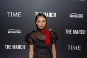 Actress Kat Graham attends the TIME Launch Event for The March VR Exhibit at the DuSable Museum on February 26, 2020 in Chicago, Illinois.