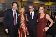 (L-R) Rich Battista, Candace Cameron-Bure, Jess Cagle, and Karen Kovacs attend TIME and People's Annual White House Correspondents' Association Cocktail Party at St Regis Hotel on April 29, 2016 in Washington, DC.