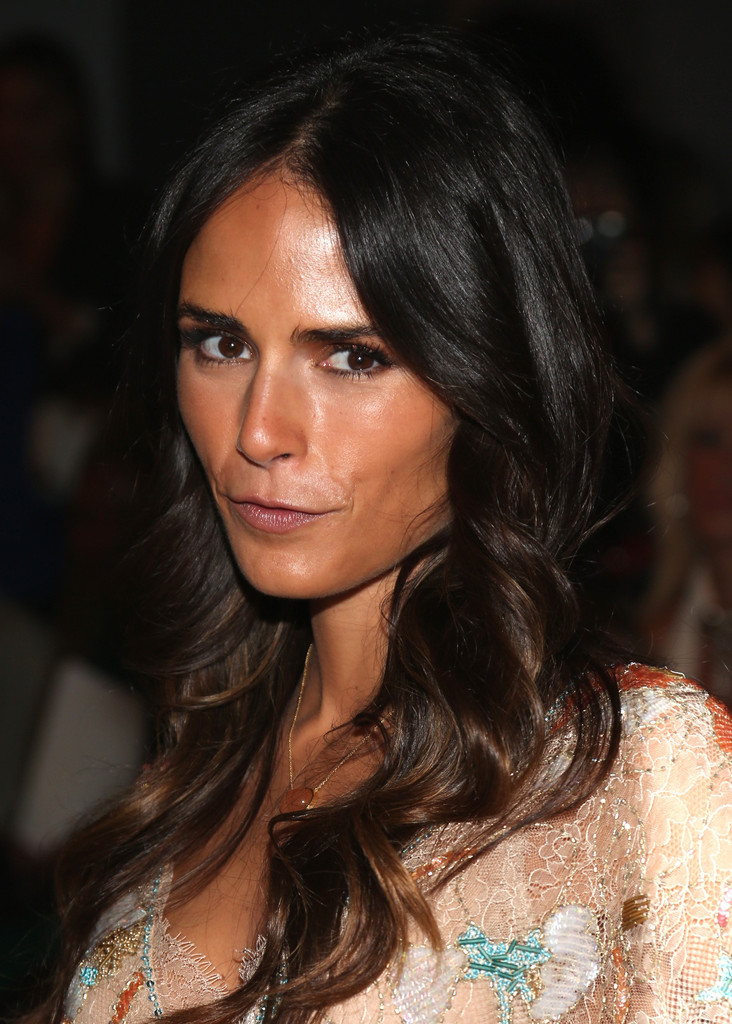 Jordana Brewster In Tresemme At Jenny Packham Front Row