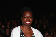 Adepero Oduye attends the Vivienne Tam fashion show with TRESemme during Mercedes-Benz Fashion Week Fall 2014 at The Theater at Lincoln Center on February 9, 2014 in New York City.