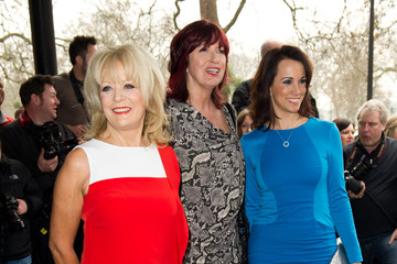 Andrea McLean Sherrie Hewson The TRIC Awards 2012 - Outside Arrivals