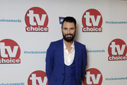 Rylan Clark arrives for the TV Choice Awards at The Dorchester on September 4, 2017 in London, England.