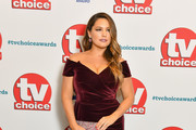 Kelly Brook attends the TV Choice Awards at The Dorchester on September 10, 2018 in London, England.