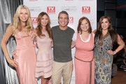 (L-R) Aviva Drescher, Carole Radziwill, Andy Cohen, Caroline Manzo and Jacqueline Laurita attend the TV Guide Magazine & Andy Cohen Book Signing Party on June 21, 2012 in New York City.