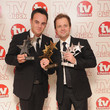 Anthony McPartlin And Declan Donnelly TV Quick & TV Choice Awards - Press Room