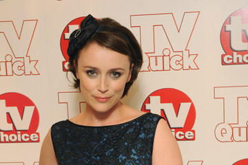 Keely Hawes TV Quick & TV Choice Awards - Red Carpet Arrivals