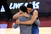 Devin Booker Karl-Anthony Towns Photos Photo