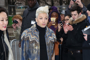 Taeyang Arrivals at the Chanel Runway Show — Part 4