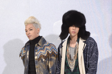 Taeyang Front Row at the Chanel Runway Show