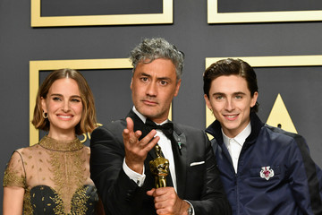 Taika Waititi Timothee Chalamet 2020 Getty Entertainment - Social Ready Content