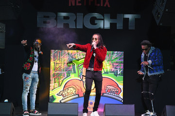 Takeoff Premiere of Netflix's 'Bright' - Red Carpet