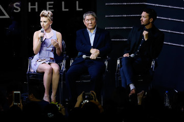Takeshi Kitano 'Ghost in the Shell' Global Trailer Launch
