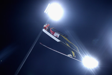 Taku Takeuchi Ski Jumping - Winter Olympics Day 7