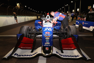 Takuma Sato Phoenix International Raceway - Day 1