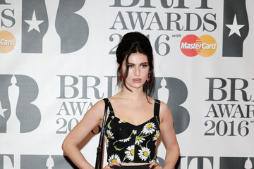 Tali Lennox Brit Awards 2016 - Red Carpet Arrivals