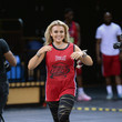 Tallia Storm Who's Got Game Charity Celebrity Basketball 2021