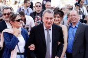 """Anne Rothenstein, Stephen Frears, Lola Frears and Bill Camp attend the """"Tamara Drewe"""" Premiere at Palais des Festivals during the 63rd Annual Cannes Film Festival on May 18, 2010 in Cannes, France."""