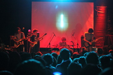 Jay Watson Dominic Simper Tame Impala In Concert