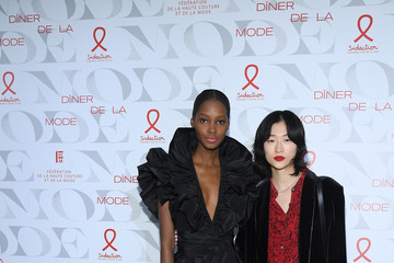Tami Williams 17th 'Diner De La Mode' To Benefit Sidaction At Pavillon d'Armenonville