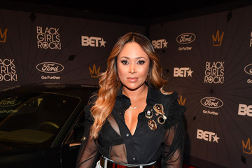 Tamia Marilyn Hill Black Girls Rock! 2018 - Red Carpet