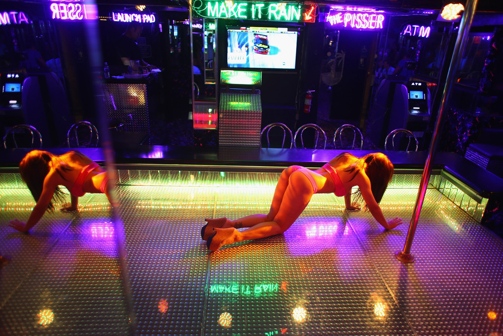 Increase in violence with strip club
