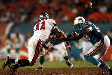 Charles Grant Tampa Bay Buccaneers v Miami Dolphins