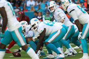 Jay Cutler #6 of the Miami Dolphins during the first quarter against the Tampa Bay Buccaneers at Hard Rock Stadium  on November 19, 2017 in Miami Gardens, Florida.