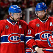 Tomas Plekanec and Andrei Markov Photos