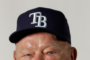 Don Zimmer Tampa Bay Rays Photo Day