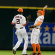 Dexter Fowler and George Springer Photos