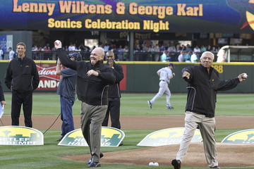 Lenny Wilkens Tampa Bay Rays v Seattle Mariners