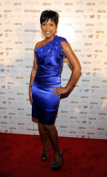 tamron hall msnbc news anchor tamron hall arrives at the 2010 miss