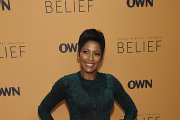 Tamron Hall Guests Attend the 'Belief' New York Premiere